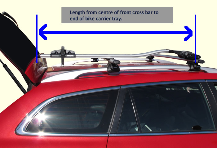 Bike Carrier length guide