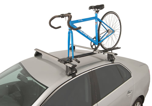 Rhino Mountain Trial bike carrier on car