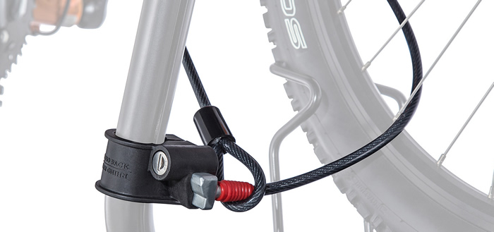 RhinoRack Discovery bike carrier close up
