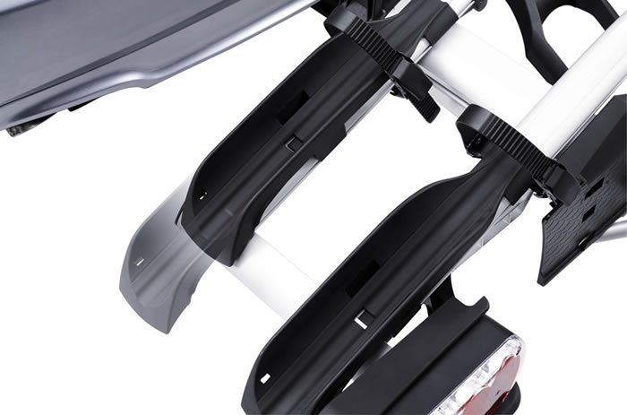 Wheel restraints on Thule Euro Power
