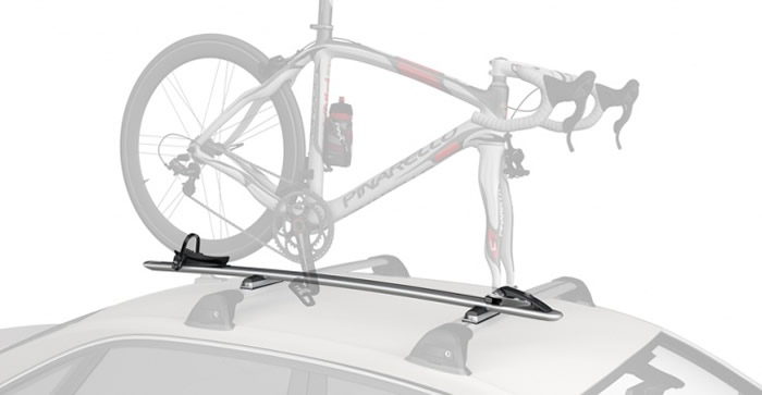 Whispbar WB200 bike carrier with cycle