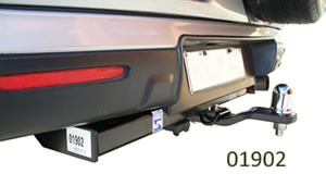 Hayman Reese 1902 tow bar fitted to Honda CRV
