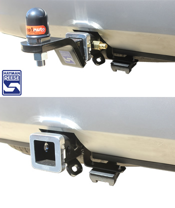 Hyundai Santa Fe Towbar hitch removed