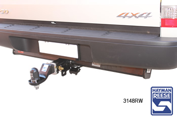 Tow bar fitted to Mazda BT50