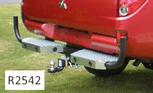 Triton ute towbar protection bar