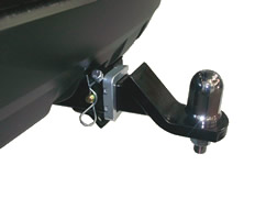 Hitch receiver towbar