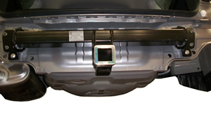 Towbar installation on 2010 SUbaru Outback