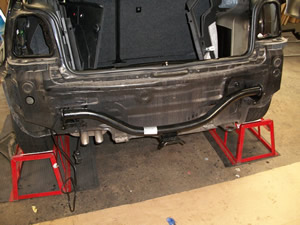 VW Golf towbar installation