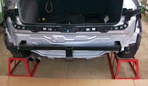 Fitting VW Golf tow bar