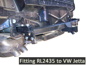 Fitting tow bar to VW Jetta