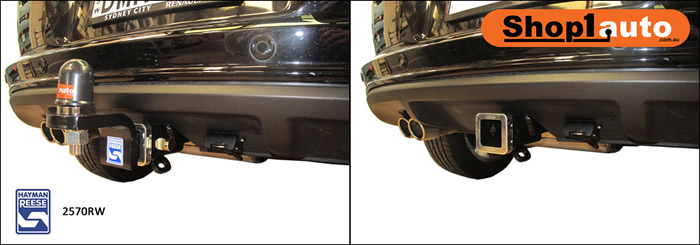 Hayman reese towbar 2570RW fitted to VW Tiguan generation 1