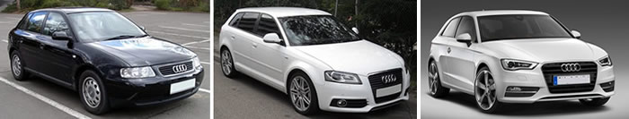 Audi A3 vehicle pic