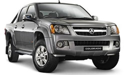 Holden Colorado dual cab vehicle pic