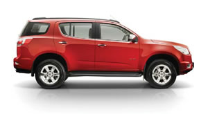 Holden Colorado 7 vehicle image