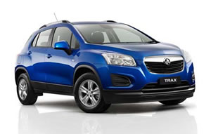 Holden Trax vehicle image