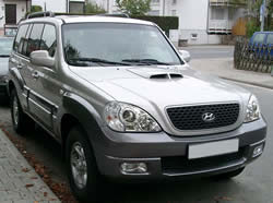 Hyundai Terracan vehicle image