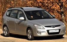 Hyundia i30 wagon vehicle pic