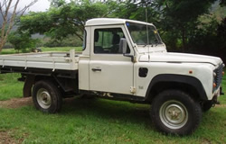 Landrover 110 Cab Chassis