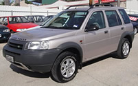 Landrover Freelander vehicle image