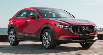 Mazda CX30 vehicle pics