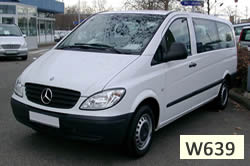Mercedes Vito W639 vehicle pic