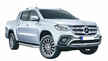 Mercedes X-Class vehicle image