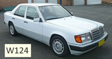 Mercedes W124 vehicle pic