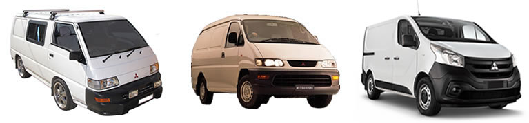 Roof Racks Mitsubishi express vehicle image