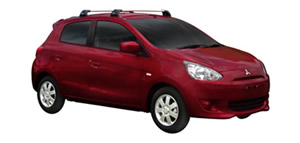 Mitsubishi Mirage vehicle image