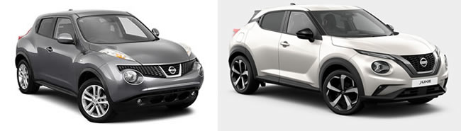 Roof Racks Nissan Juke vehicle image