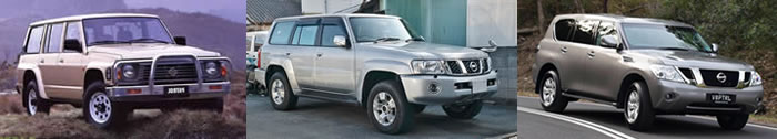 Nissan Patrol GQ vehicle pic