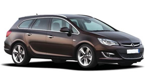 Opel Astra wagon vehicle image