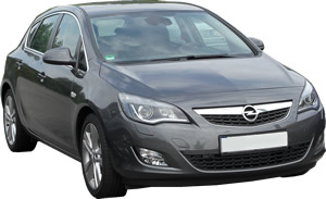 Roof Racks Opel Astra vehicle pic