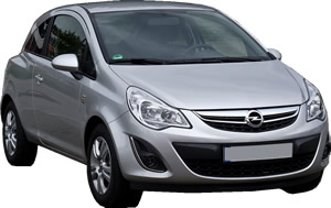 Opel Corsa vehicle pic