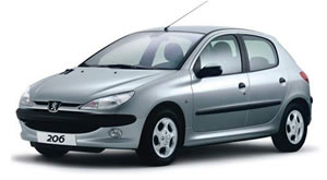 Peugeot 206 vehicle image