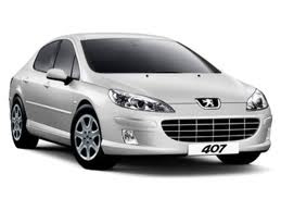 Peugeot 407 vehicle image