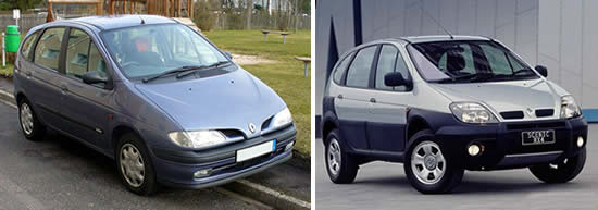Renault Scenic vehcile image