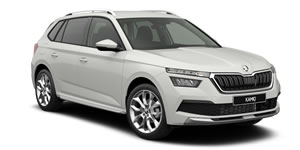 Skoda Kamiq Roof Racks vehicle image