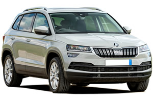 roof racks Skoda Koaroq, vehicle image