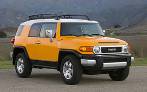 Toyota FJ Cruiser vehicle image