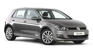 VW Golf vehicle image