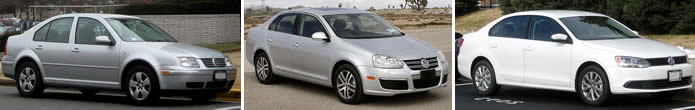 VW Jetta vehicle images