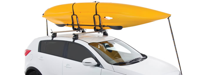 Rhino S512 kayak carrier on vehicle