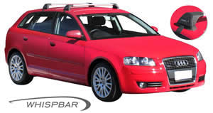 Audi A3 roof rack Prorack Whispbar