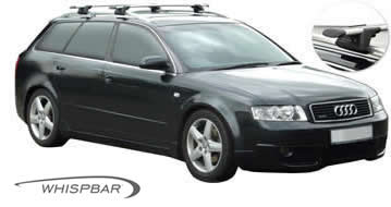 Audi A4 wagon 2002 whispbar roof racks