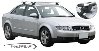 Audi A4 roof racks Prorack Whispbar