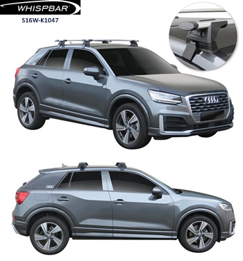 Audi Q2 roof racks Whispbar