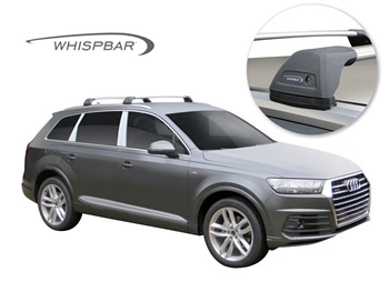 Whisbar roof racks Audi Q7