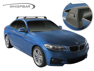 BMW 3-Series roof racks Whispbar