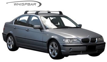 Prorack Whispbar fitted to BMW 3-Series E46